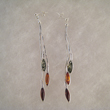 Boucles d'oreilles fil navettes longues